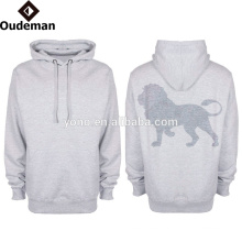 2016 OEM custom mens casual style oversized dry fit polyester hoodies